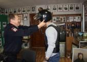 Полицейские Темрюка провели день открытых дверей для студентов юридического факультет