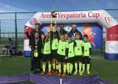 Юные футболисты из Темрюка заняли 1 и 5 место в соревнованиях в Крыму