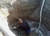 В поселке Кучугуры специалисты ГУП КК «Кубаньводкомплекс» заменили 310 метров аварийного водовода
