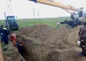 «Таманский групповой водопровод» заменил аварийный участок магистрального водовода на Таманском полуострове