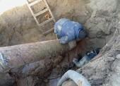 «Таманский групповой водопровод» заменил участок аварийного водопровода в станице Ахтанизовской
