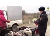 Полицейские Темрюка выявили незаконную торговлю рыбы
