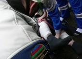 В Темрюке спасатели вытащили нож мотокультиватора из ноги пенсионера