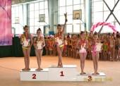 Темрюкские гимнастки взяли призовые места на открытом первенстве