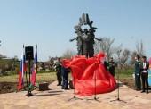 В Тамани открыли памятник участникам ликвидации аварии на Чернобыльской АЭС