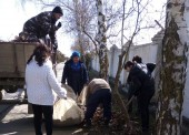 ГУП КК «Кубаньводкомплекс» приняло участие в краевом месячнике по благоустройству и наведению санитарного порядка