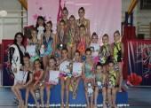 Краевое первенство по художественной гимнастике провели в Темрюке