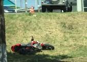 В Темрюке в результате ДТП погиб мотоциклист