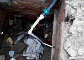 Две нелегальные врезки обнаружили сотрудники «Таманского группового водопровода» в поселке Батарейка