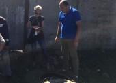 Сотрудники «Таманского группового водопровода» обнаружили незаконные врезки