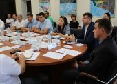 О строительстве новой дороги и ЖД станции говорили на совещании по развитию порта Темрюк