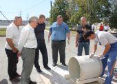 В ГУП КК «Кубаньводкомплекс» прошла презентация стеклопластиковых труб