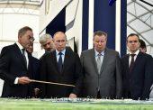 Владимир Путин посетил Темрюкский район