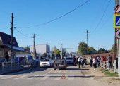 Двух школьниц сбили на пешеходном переходе в Темрюкском районе
