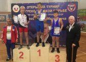 Темрюкские борцы завоевали медали на турнире в Новороссийске