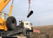 Специалисты РЭУ «Таманский групповой водопровод» заменили два аварийных участка магистрального водовода МТ-1