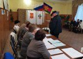 Избирательные участки начали работу в Голубицком и Фонталовском поселениях
