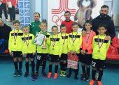 Юные футболисты из Темрюка приняли участие в выездном туринире