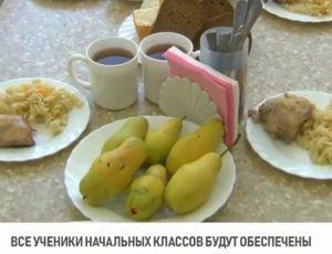 Учеников начальных классов начнут бесплатно кормить с 1 сентября