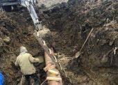 В Темрюкском районе заменены два аварийных участка магистрального водовода