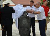 В Темрюке установили памятник чекисту погибшему в годы ВОВ