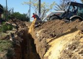 Специалисты РЭУ «Таманский групповой водопровод» ГУП КК «Кубаньводкомплекс» устранили проблему с перебоями воды в станице Ахтанизовской