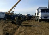 ГУП КК «Кубаньводкомплекс» заменил аварийный участок магистрального водовода на Таманском полуострове