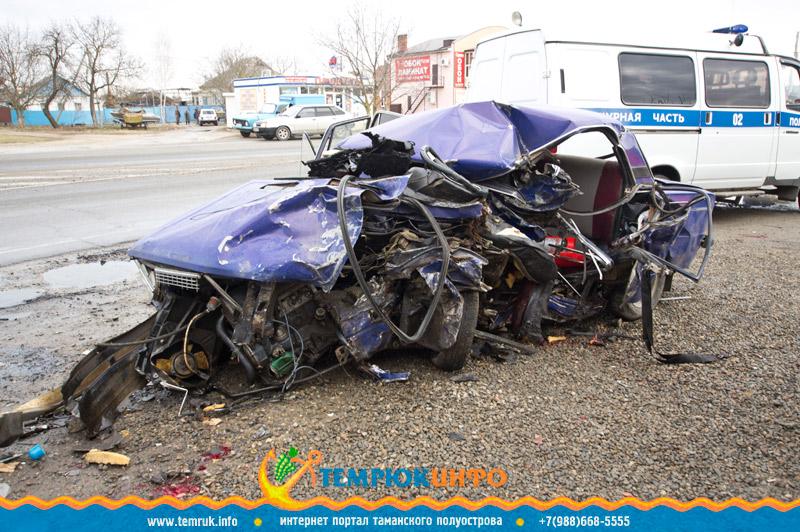 Дорожно - транспортное происшествие в Темрюке