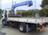 Эвакуатор (кран-манипулятор) перевозка автомобилей и грузов