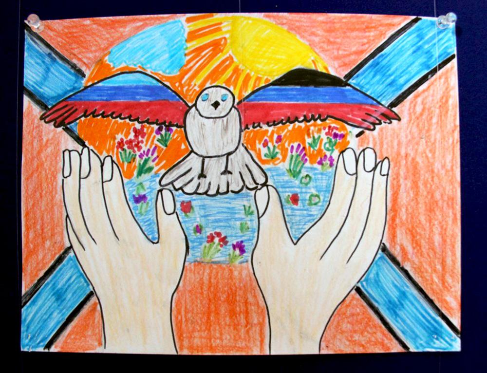 Открытки глазами детей, красивые блестящие открытки