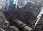 РЭУ «Таманский групповой водопровод» ГУП КК «Кубаньводкомплекс» устранил повреждение на магистральном водоводе