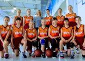 Юные баскетболистки из Темрюка приняли участие в краевых соревнованиях