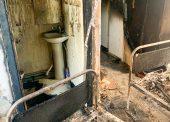 Пожар в Темрюкской ЦРБ устроил пациент с психическим расстройством