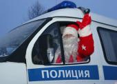 Полицейский Дед Мороз посетит Анапу и Темрюк
