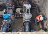 Начата реконструкция насосной станции первого подъема РЭУ «Таманский групповой водопровод» ГУП КК «Кубаньводкомплекс»