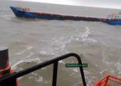 В Темрюкском районе может начаться эвакуация из-за ЧП на сухогрузе